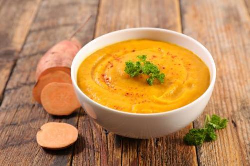 Süßkartoffel Suppe