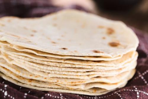 Selbstgemachte Tortillas