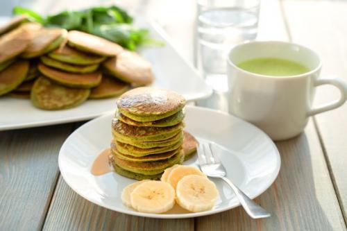 Spinat Pancakes