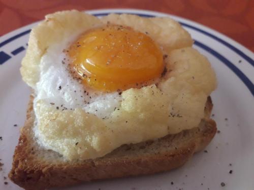 Wolken Eier