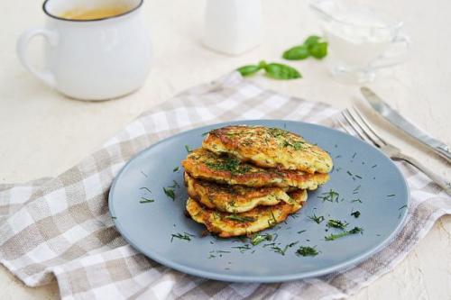 Zucchini Feta Puffer
