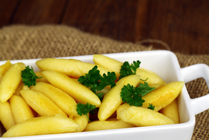 gebackene Kartoffelnudeln