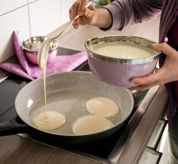 Eierkuchen mit Buttermilch