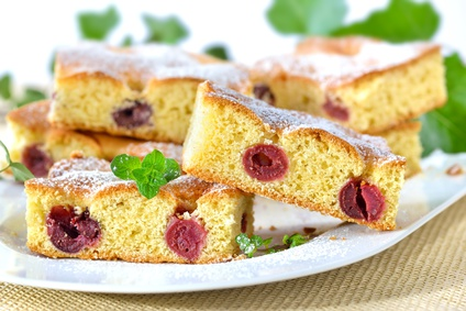 Kirschenkuchen (Blechkuchen)