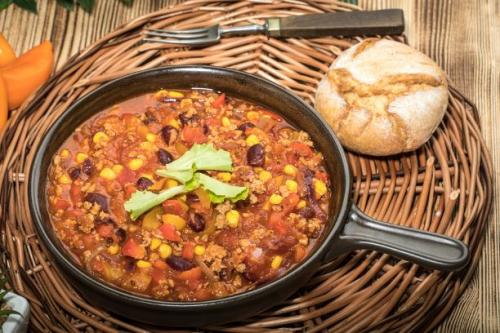 weißes Chili Con Carne